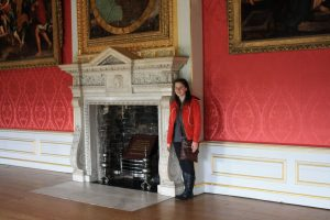 Fireplace in Kings Gallery at Kensington Palace