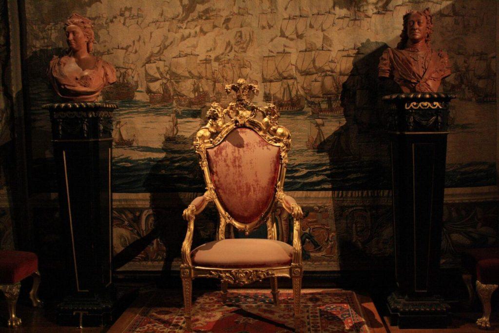 King's Throne at Kensington Palace