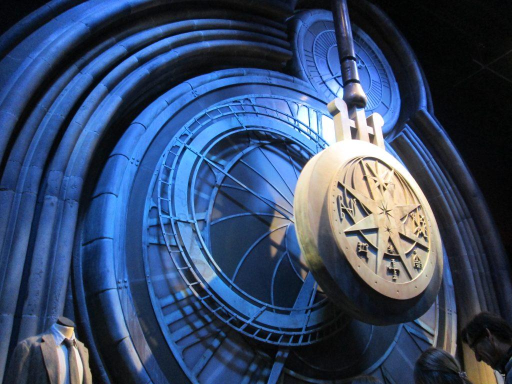 Hogwarts Clock at Leavesdon Harry Potter Studio Tour