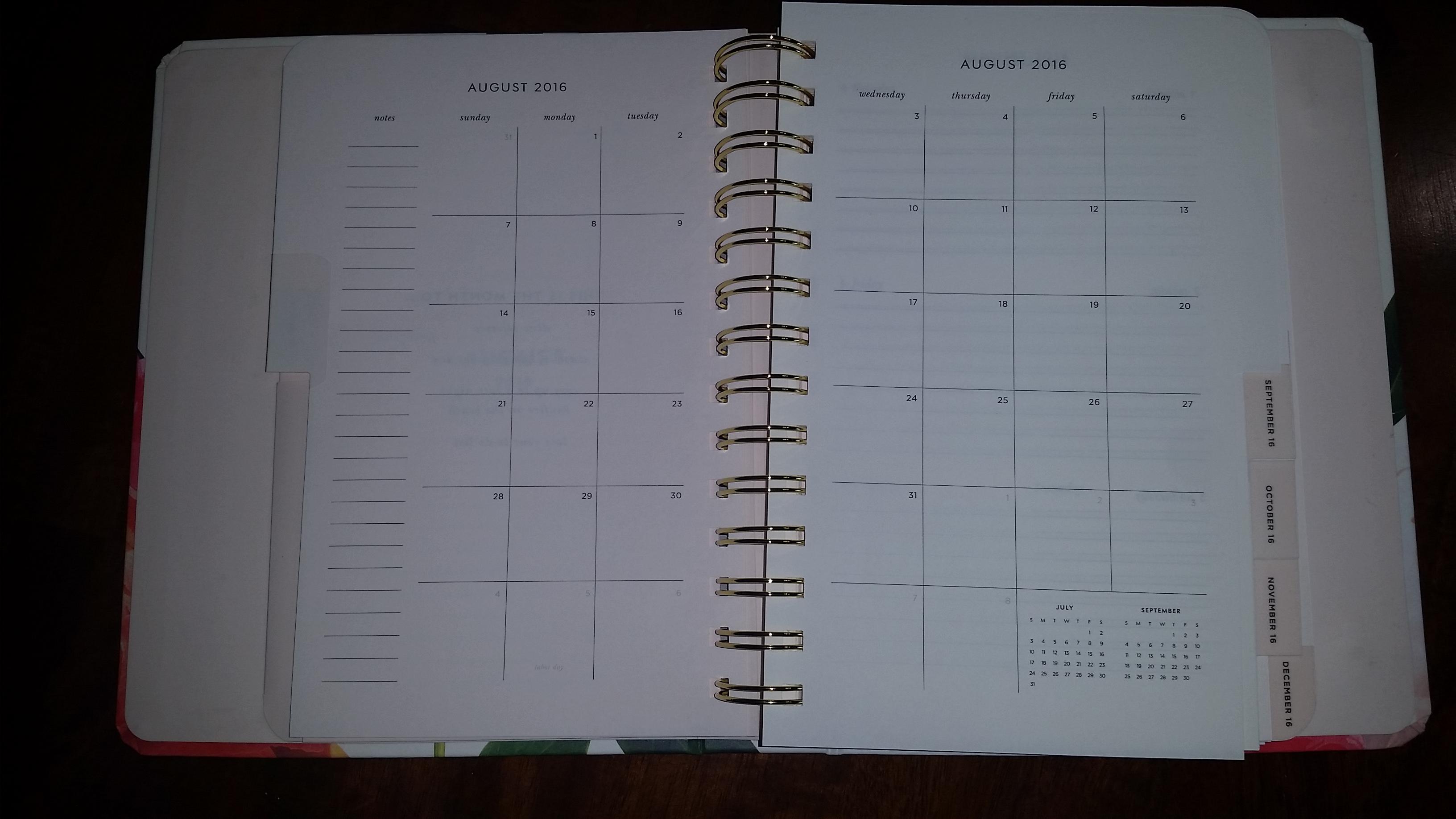Kate Spade peony planner 2017 month view.jpg
