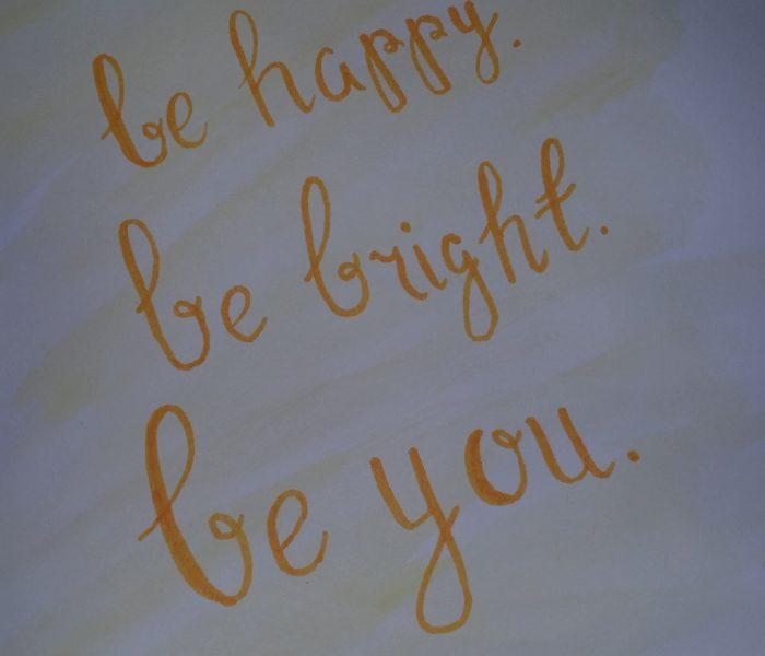DIY- Watercolour Quotes