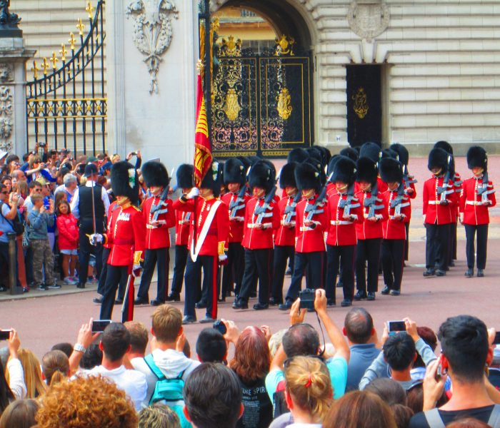 Changing of the Guard at Buck House,Travel Thursday