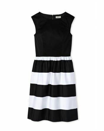 Smart Set A-line Black and White Dress.jpg