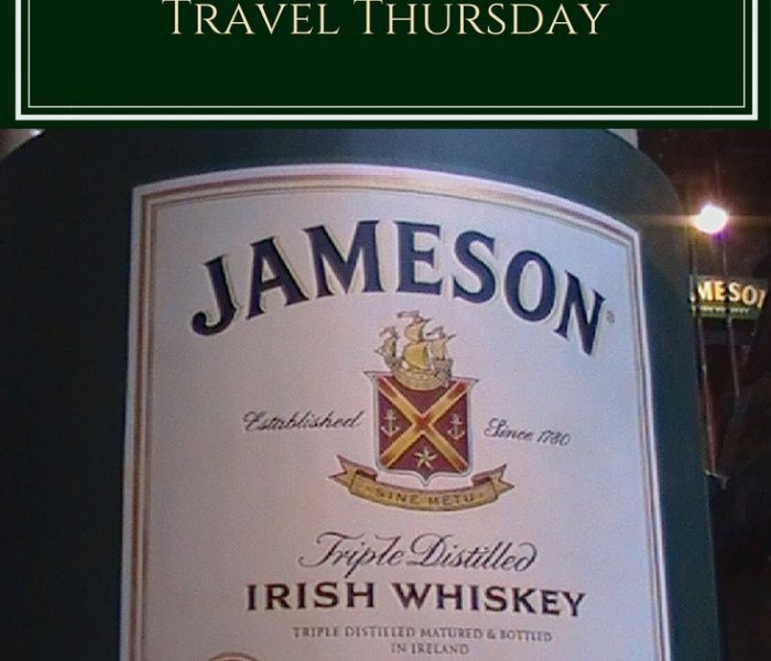 Jameson Distillery Tour, Travel Thursday
