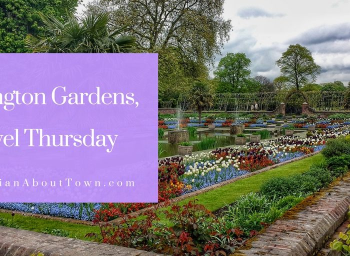 Travel Thursday, Kensington Gardens