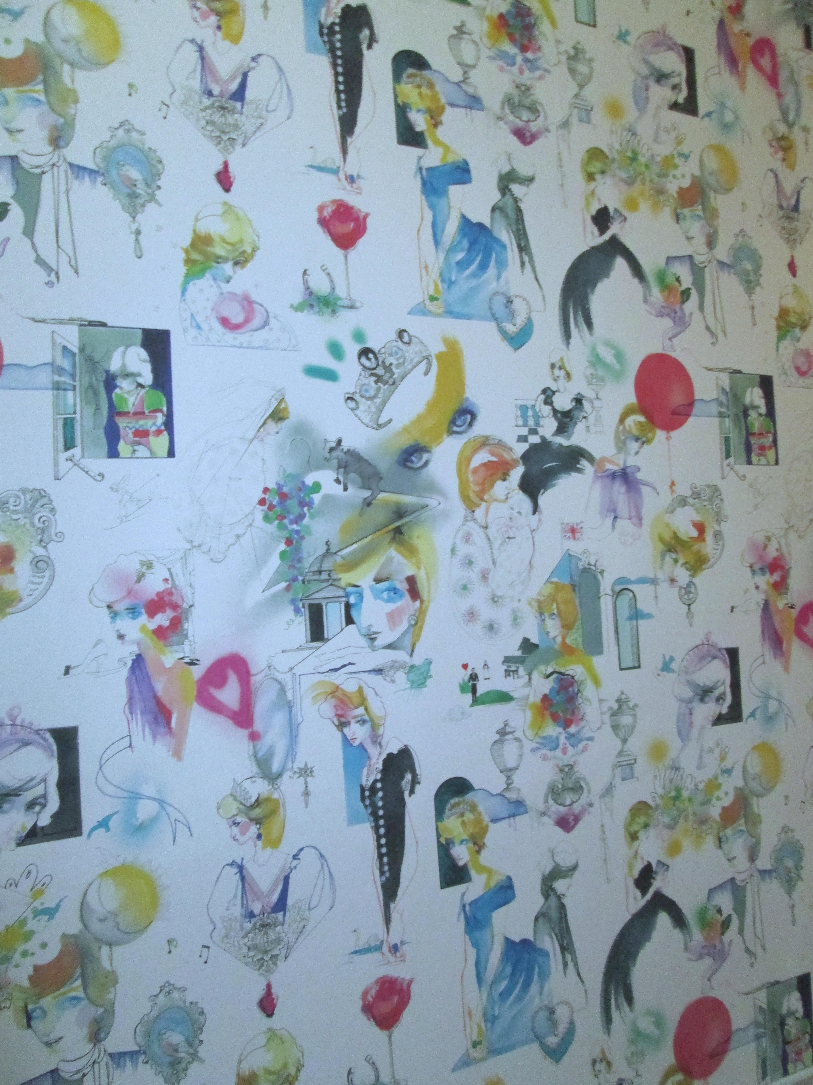Kensington Palace Diana wallpaper-01