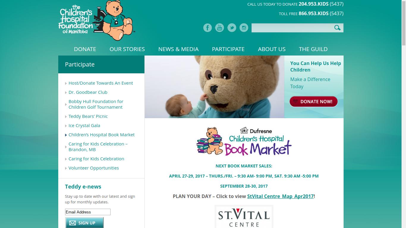 Children's Hospital Book Sale