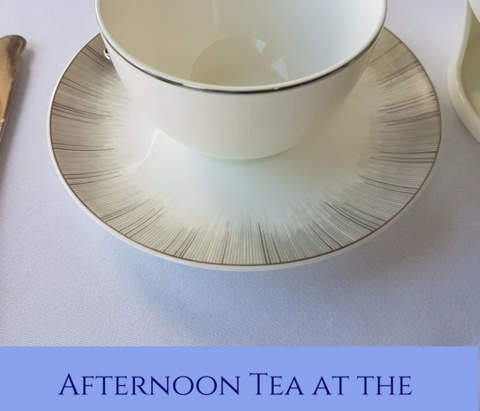 Afternoon Tea at the Fairmont Banff Springs, Travel Thursday