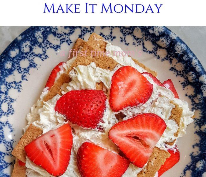 Strawberry Ice-Box Cake, Make-It Monday