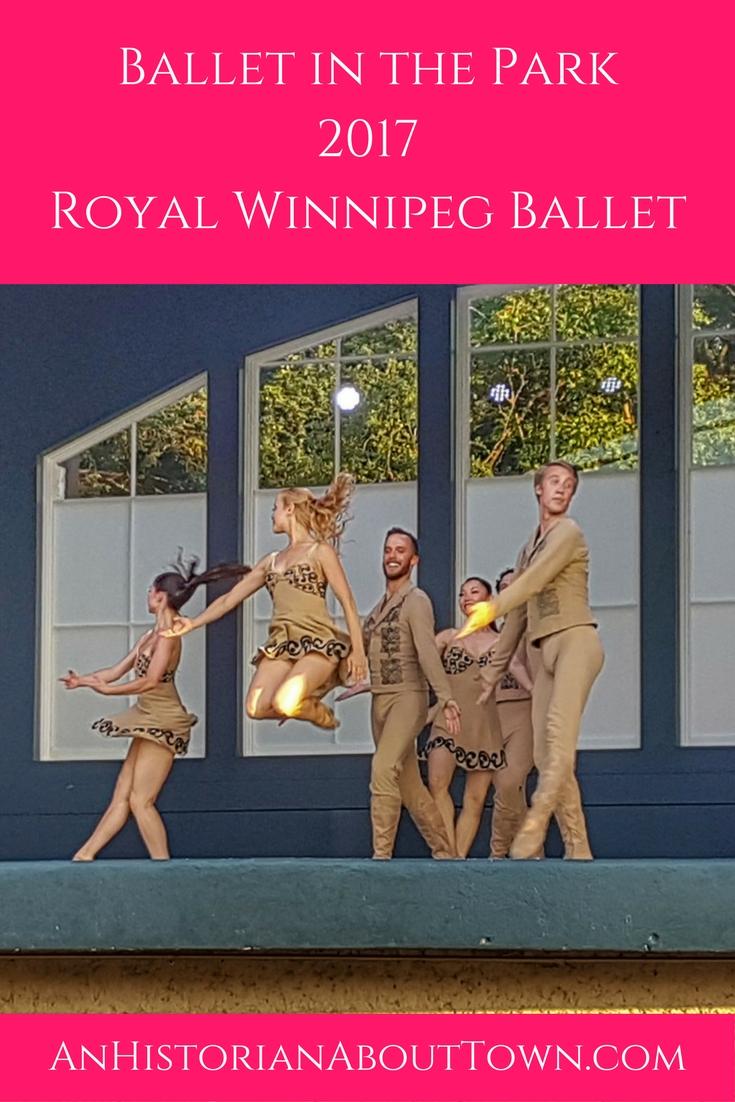 Ballet in the Park 2017,Royal Winnipeg Ballet
