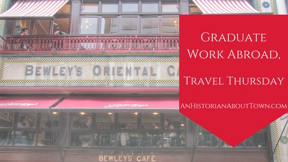Graduate Work Abroad, Travel Thursday