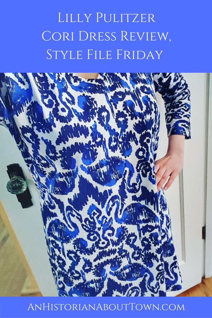 Lilly PulitzerCori Dress Review,Style File Friday