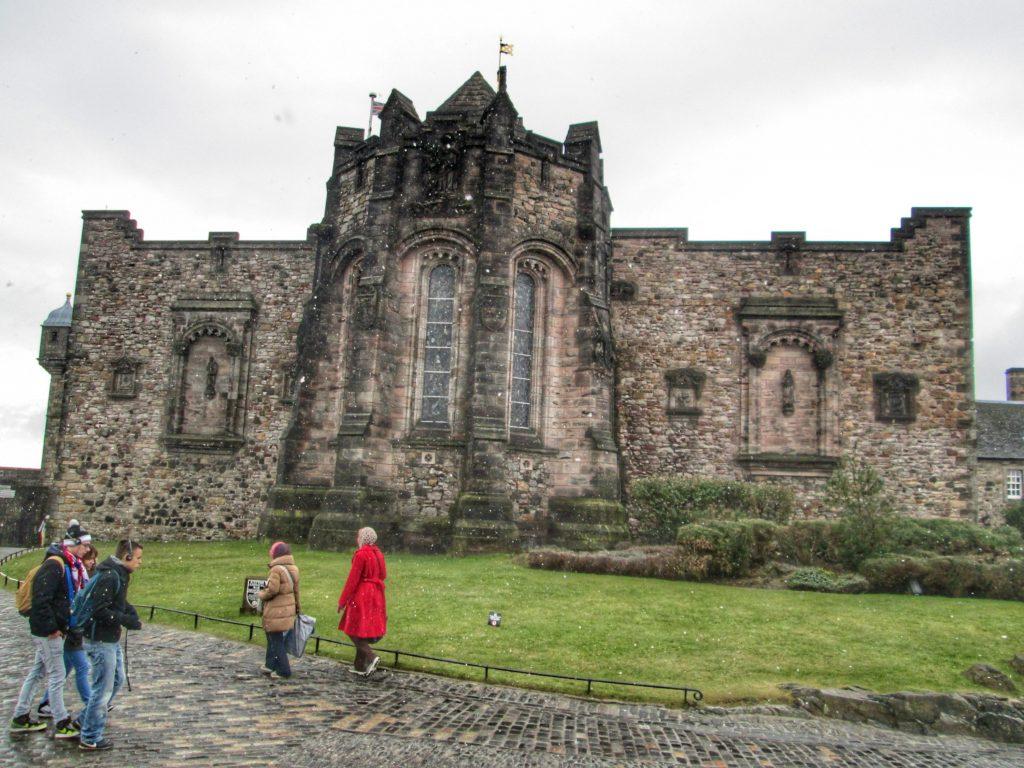 St. Margaret's Chapel at Edinburgh Castle, Edinburgh, UK