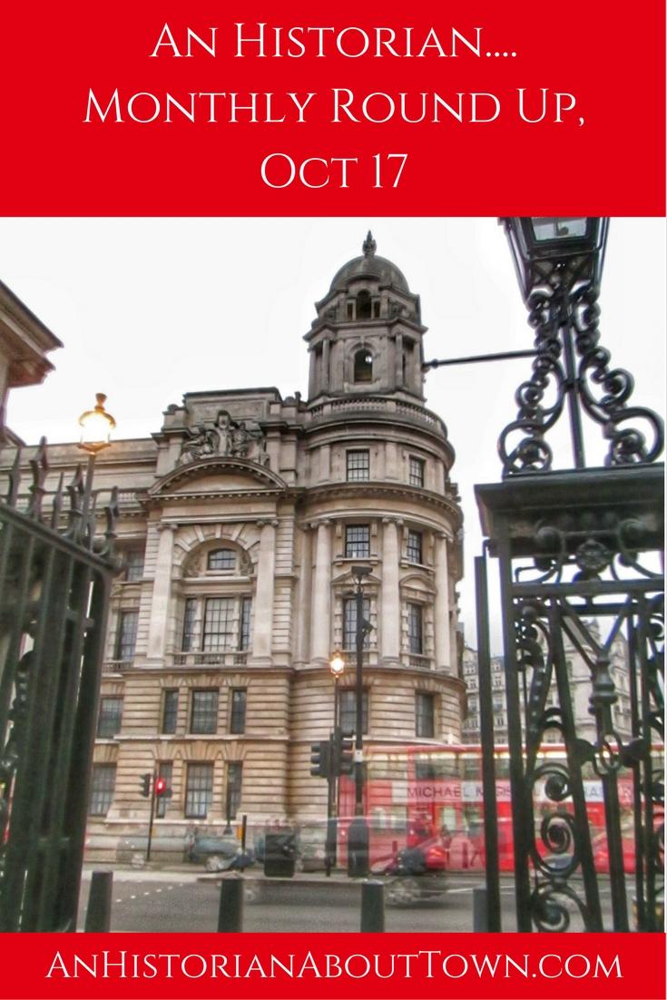 Monthly Round Up, Oct 2017
