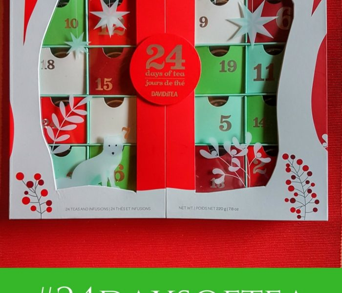#24daysoftea (aka David's Tea Advent Calendar)