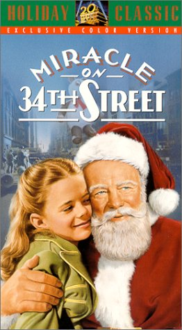 Classic Christmas Movie Miracle on 34th Street