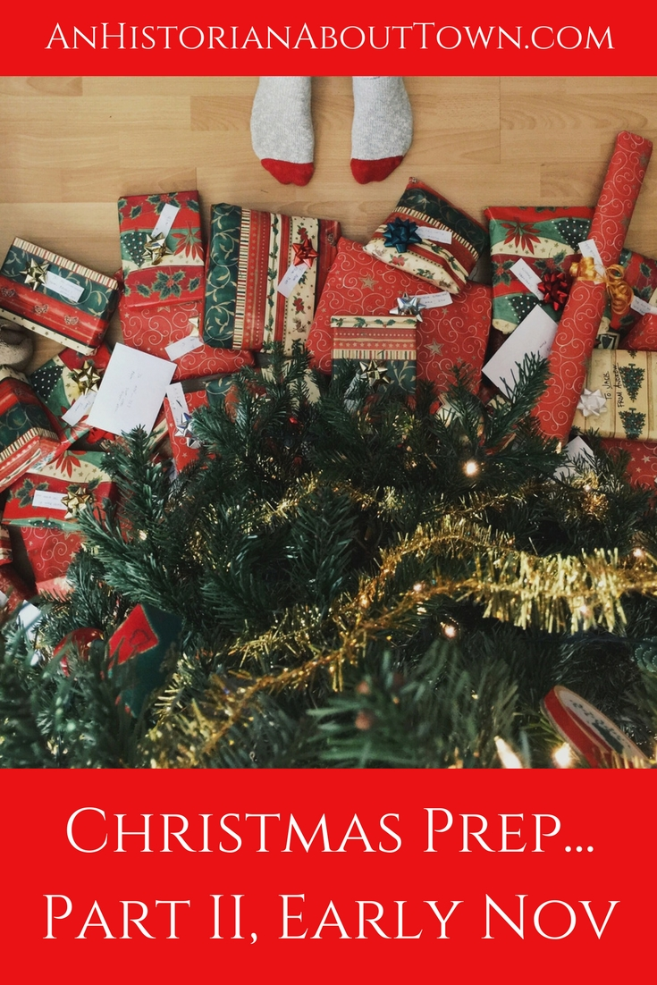 Christmas Prep Guide- Early November