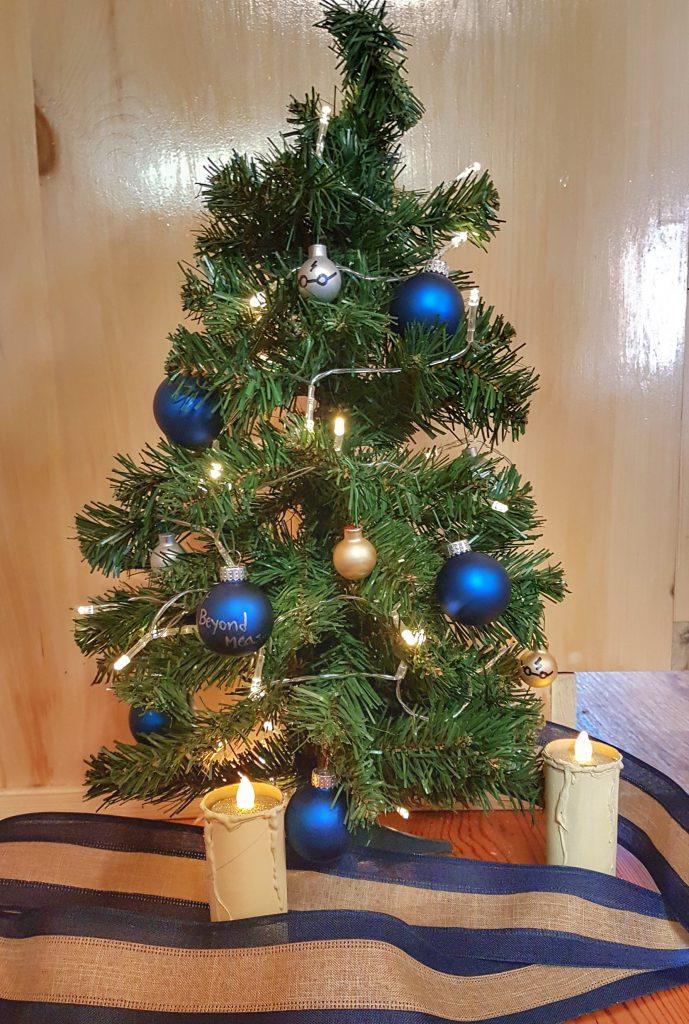 Ravenclaw Christmas Tree