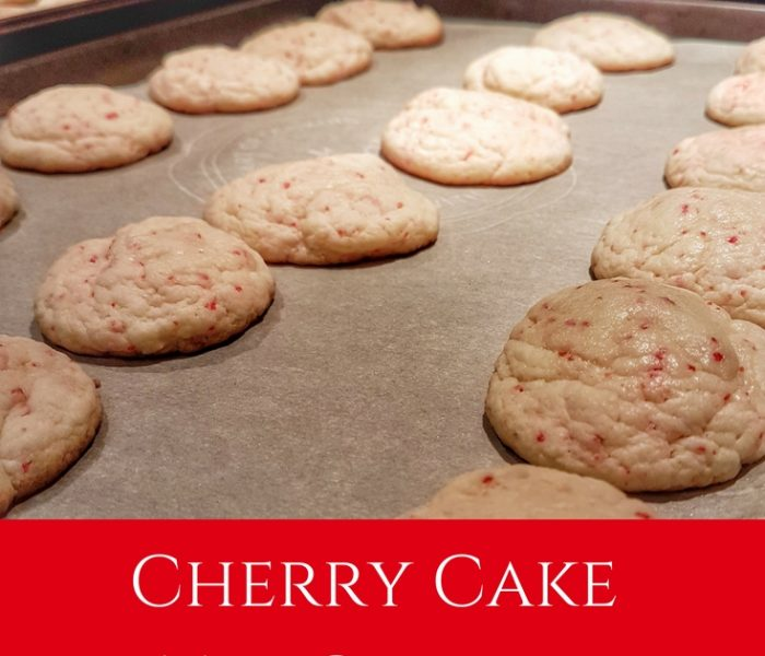 Cherry Cake Mix Cookies, Make It Monday