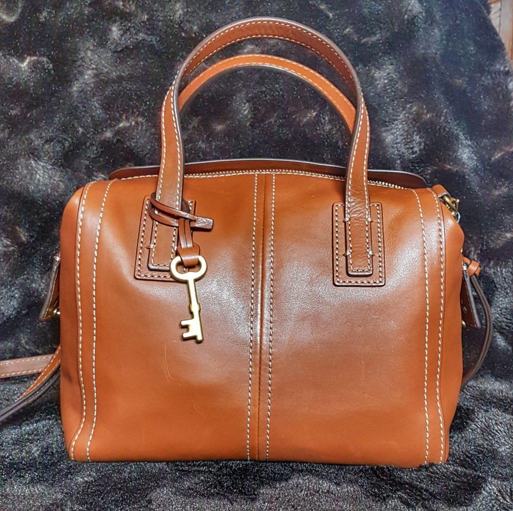 fossil emma satchel eBay purchase