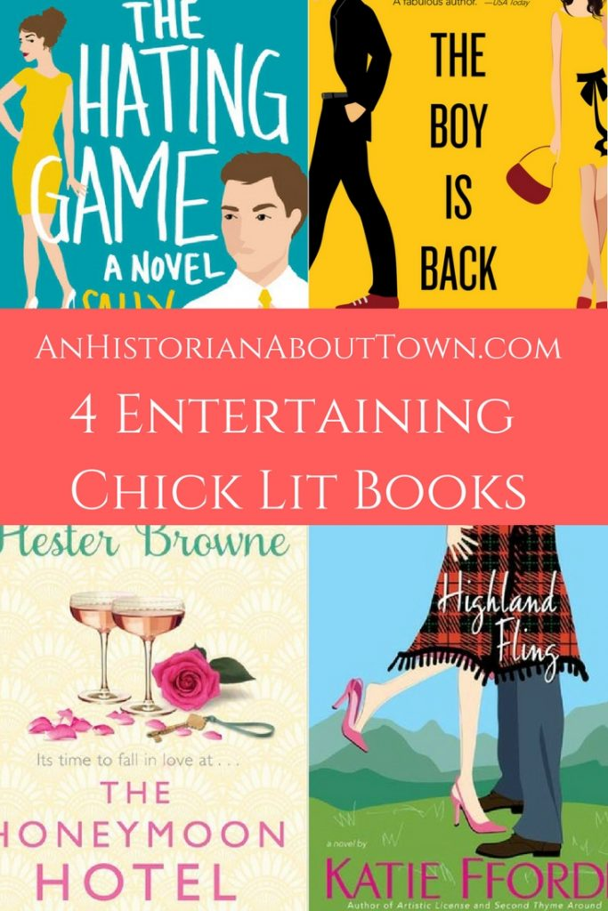4 Entertaining Chick Lit Books An Historian About Town