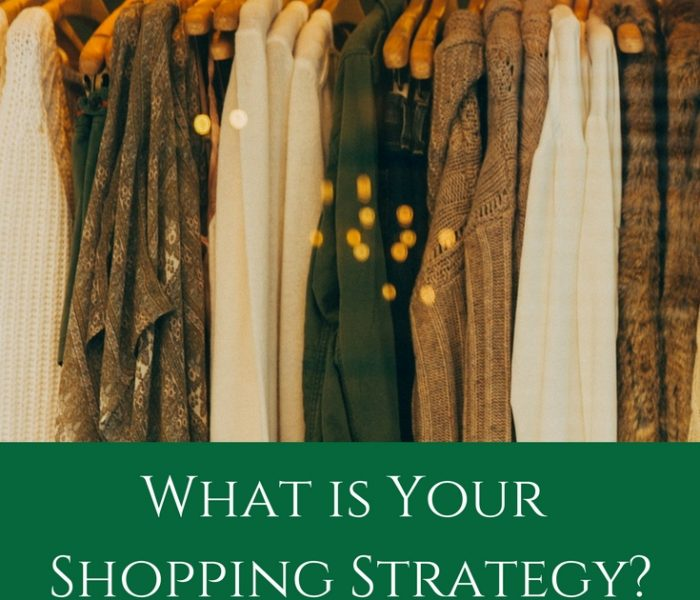 What is Your Shopping Strategy? Style File Friday