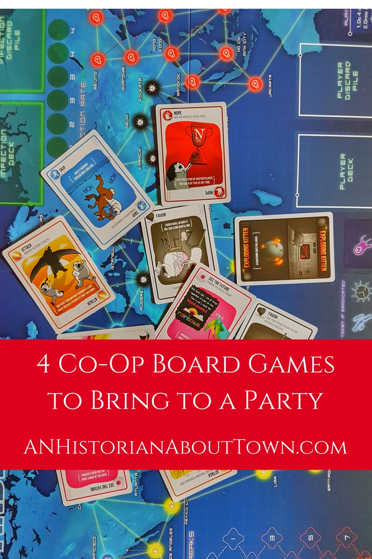 4 Co-Op Board Gamesto Bring to a Party
