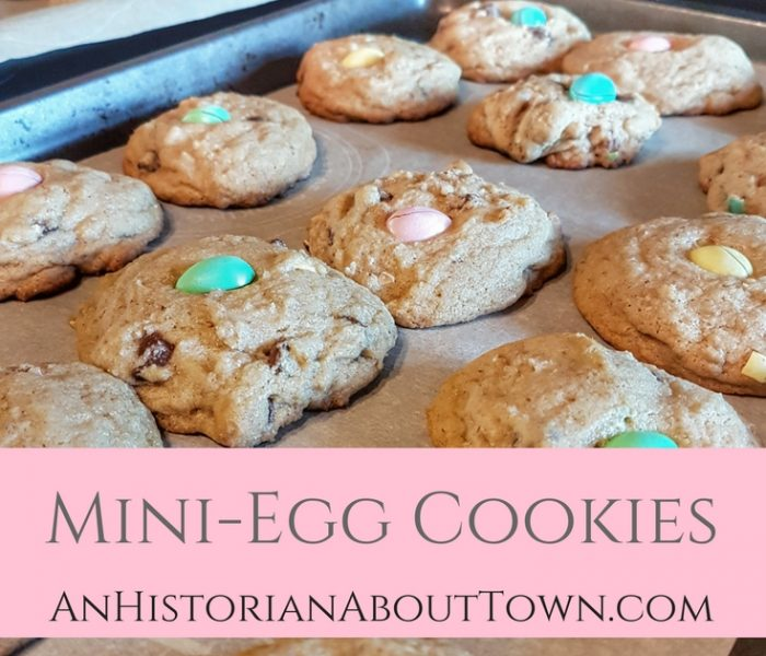 Mini-Egg Cookies, Make It Monday