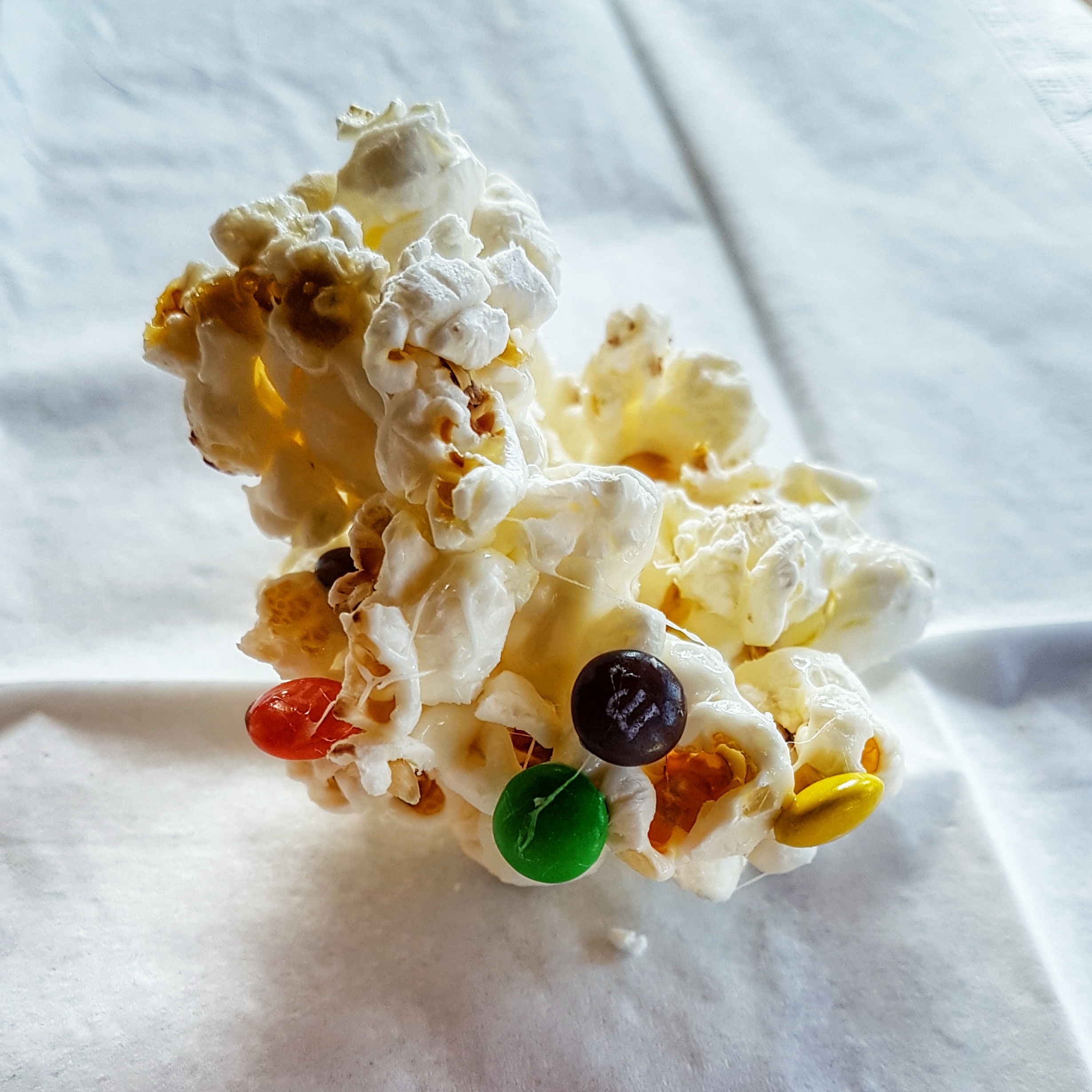M&M popcorn Marshmallow Mix