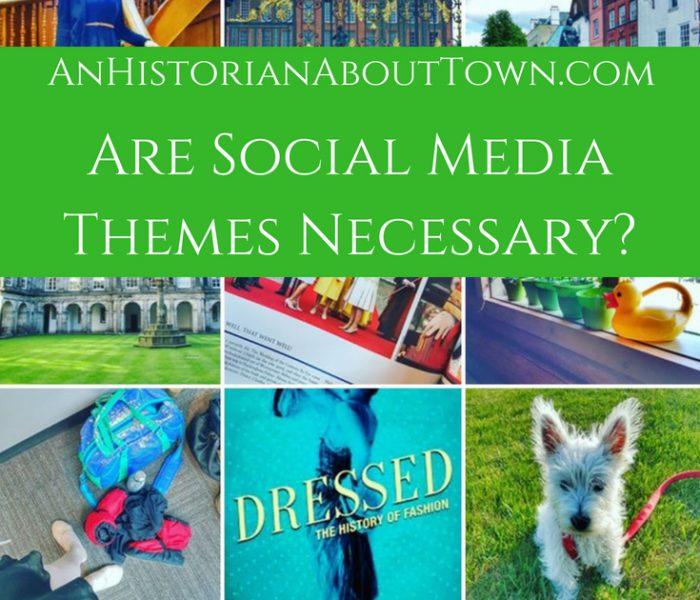 Are Social Media Themes Necessary?