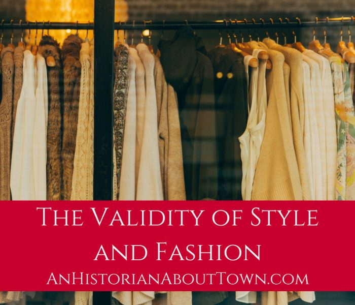 The Validity of Style and Fashion