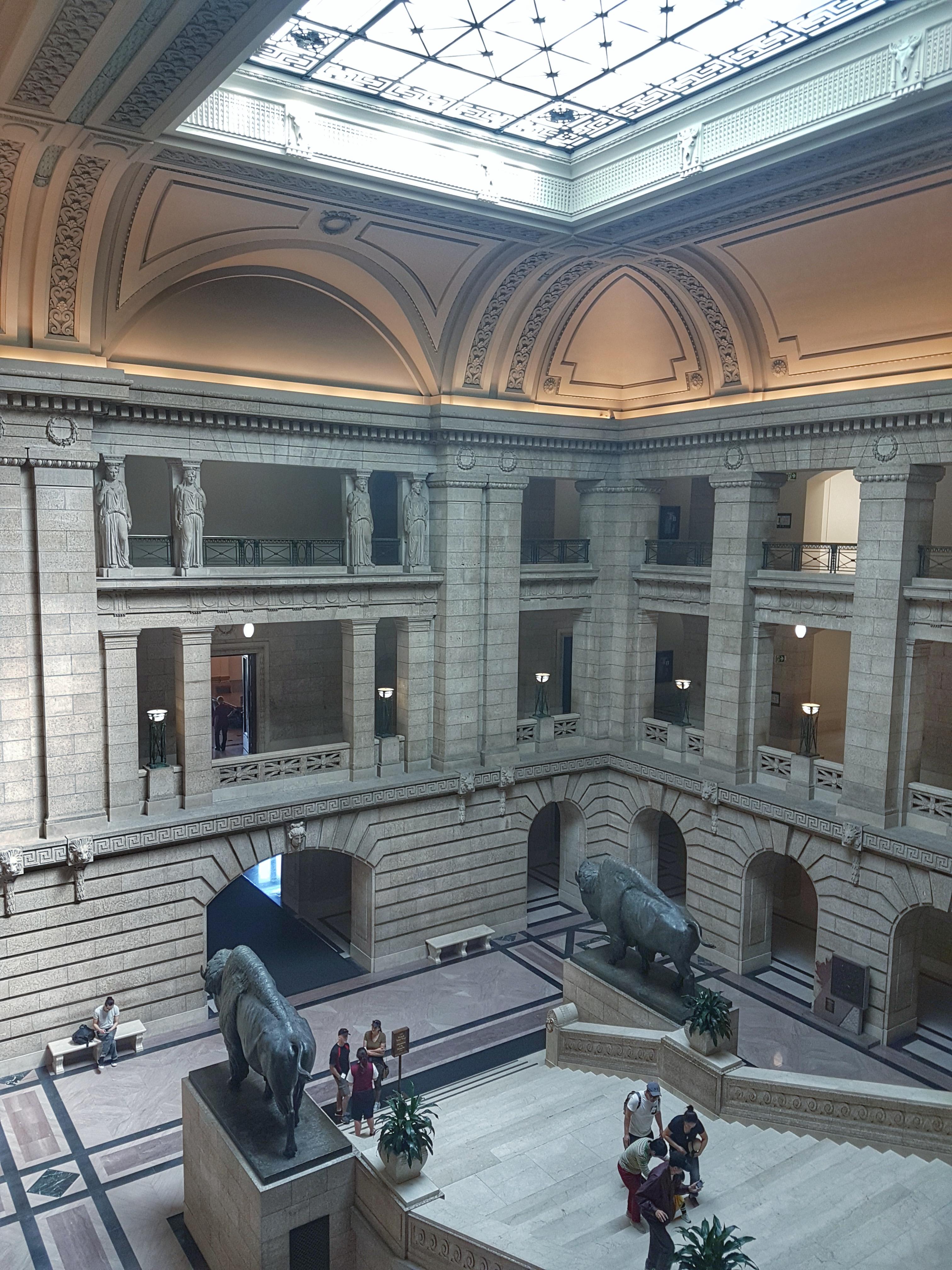 Manitoba Legislative Building Foyer