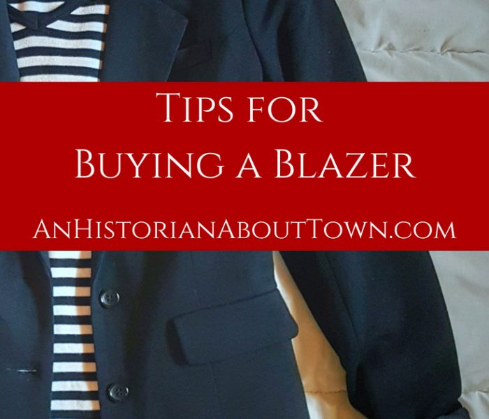 Tips for Buying a Blazer, Style File Friday