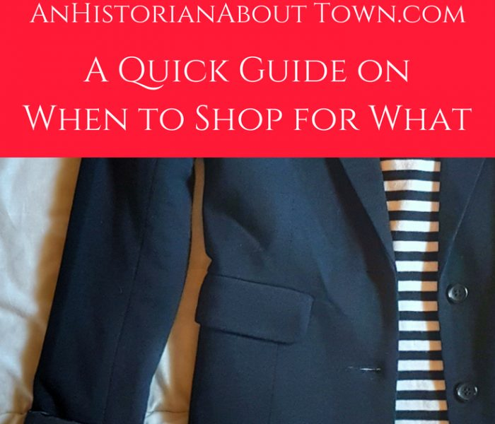 A Quick Guide to When You Should Buy What Clothing