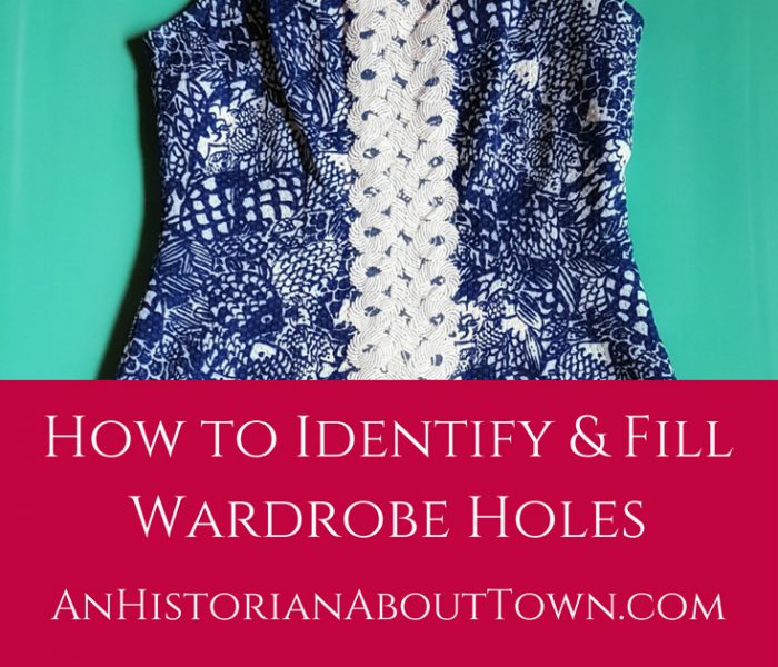 How to Identify and Fill Wardrobe Holes, Style File Friday
