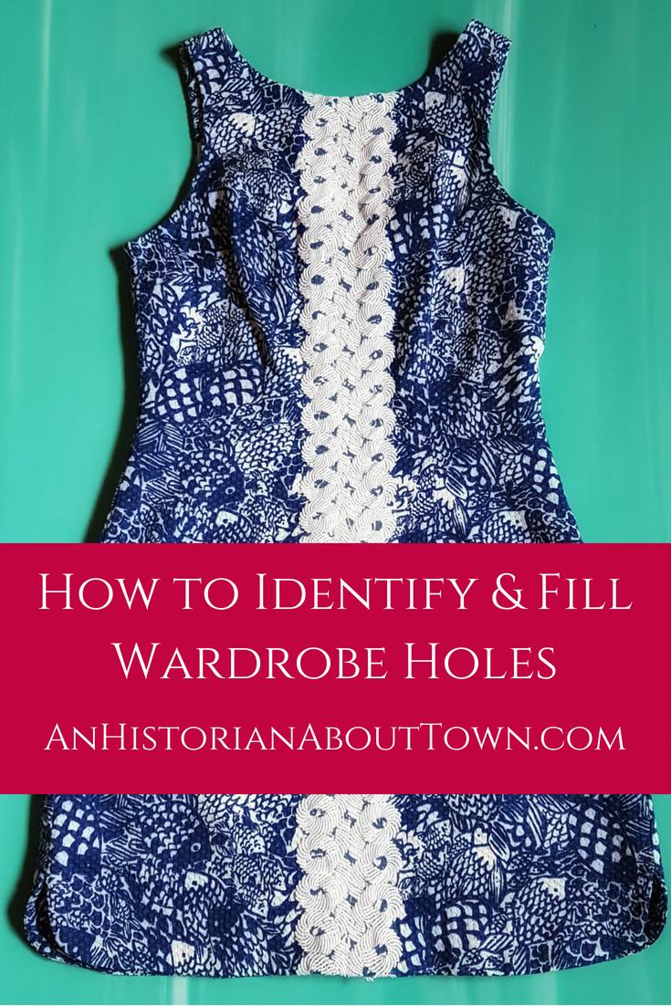 How to Identify & Fill Wardrobe Holes