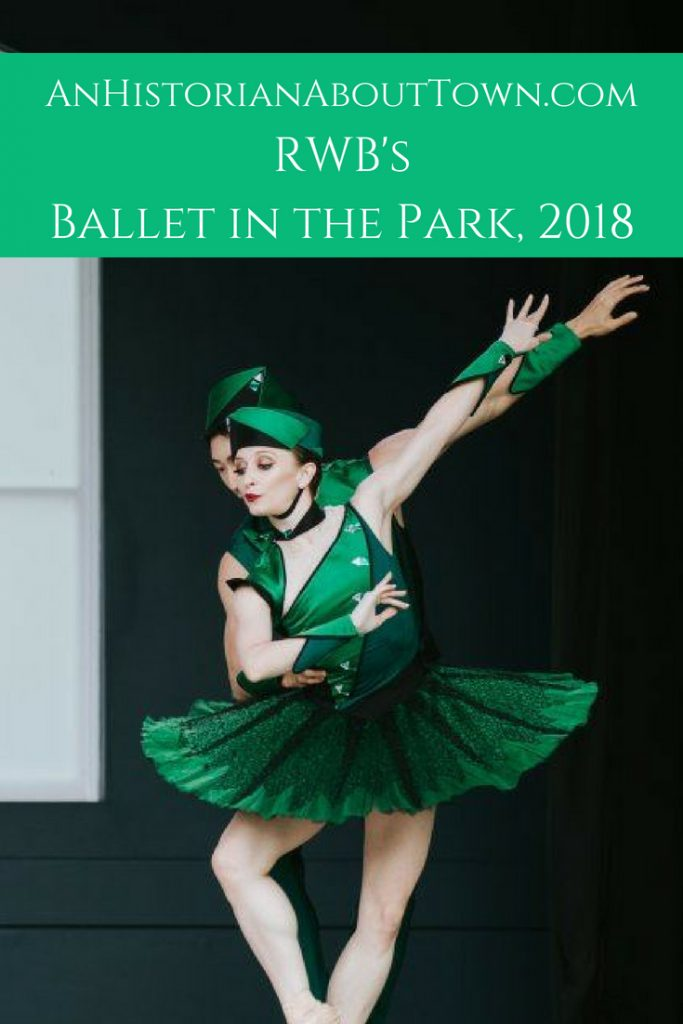 RWBs Ballet in the Park, 2018