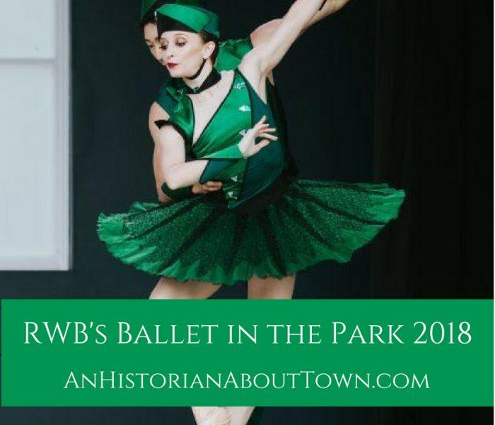 RWB's Ballet in the Park, 2018