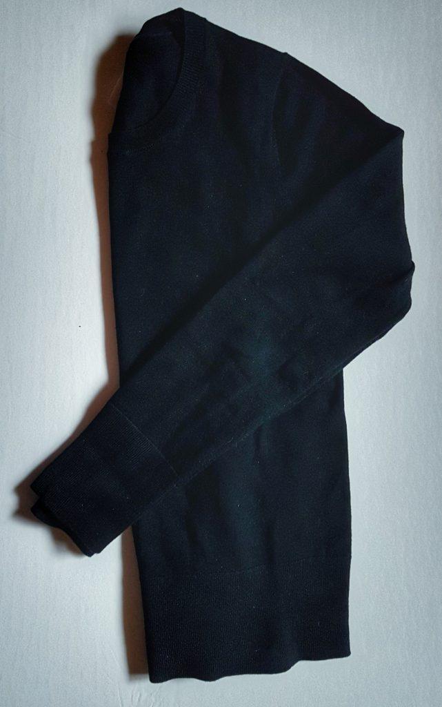 Black Merino Wool Sweater from the Gap