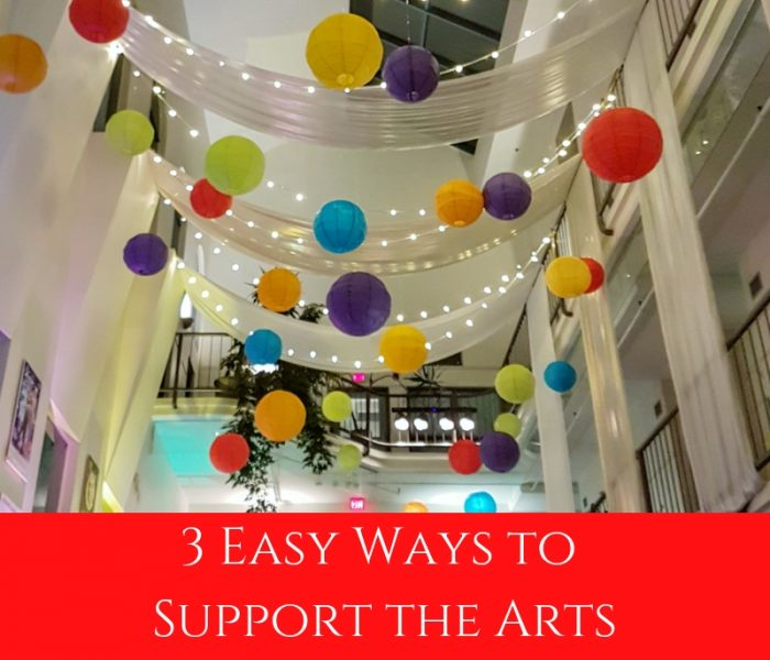 3 Easy Ways to Support the Arts- Barre After Hours 2018