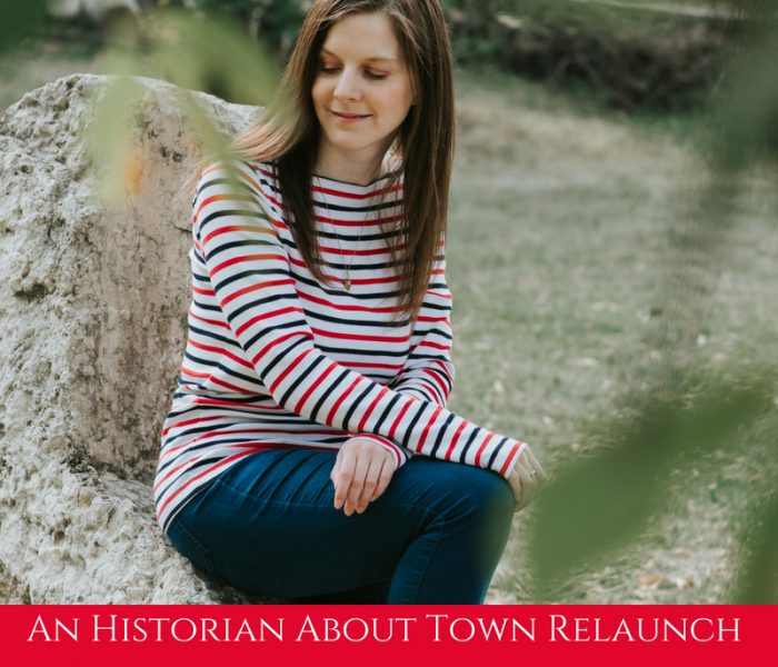 An Historian About Town Official Relaunch