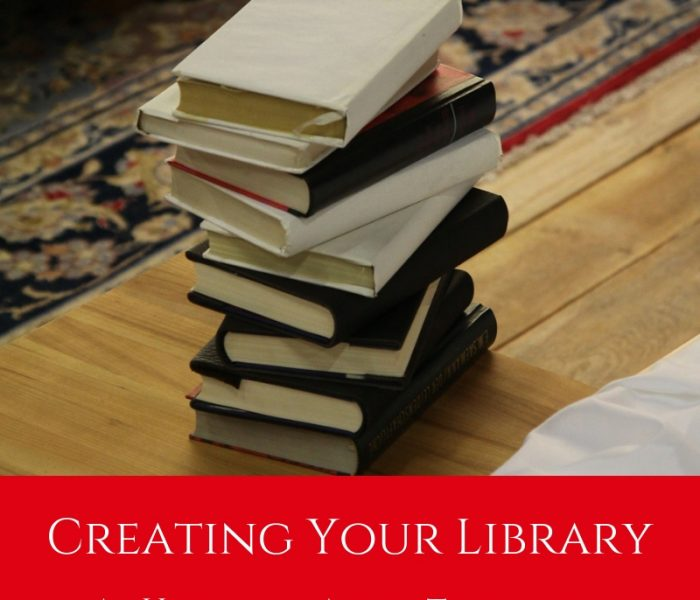Creating Your Library