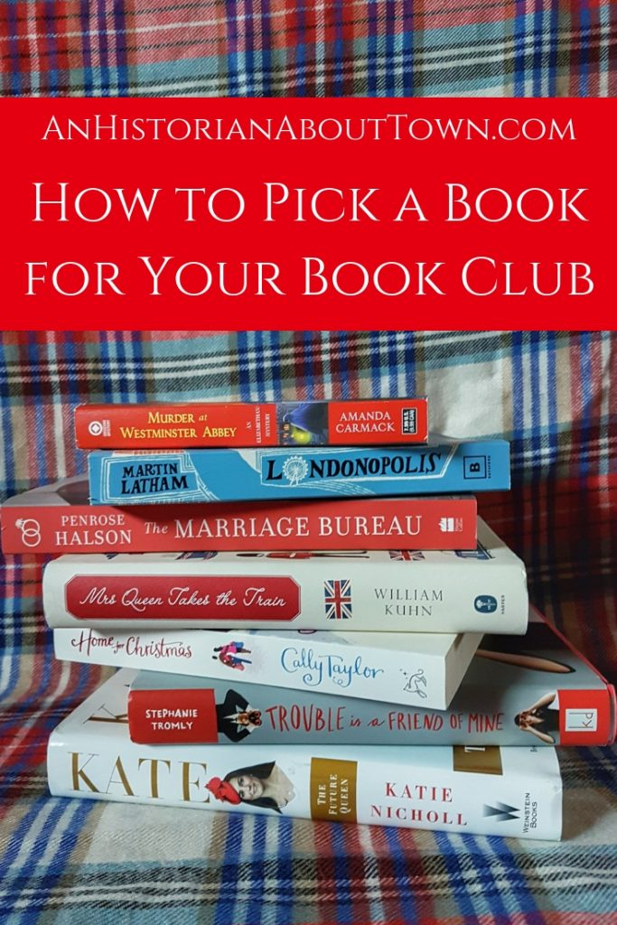 How to pick for your book club