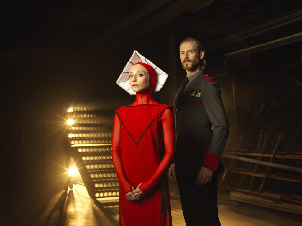 Offred and Commander Waterford, RWB's The Handmaid's Tale (2018)