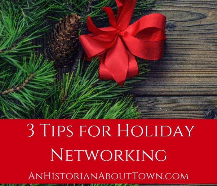 3 Tips for Holiday Networking