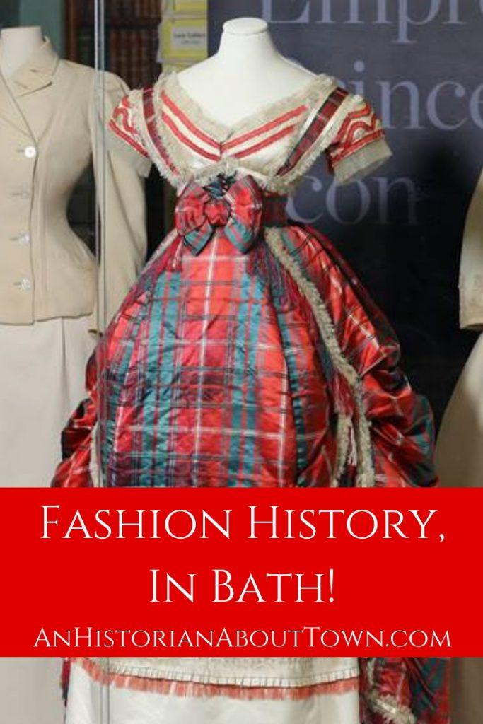 Finding fashion history in Bath, UK