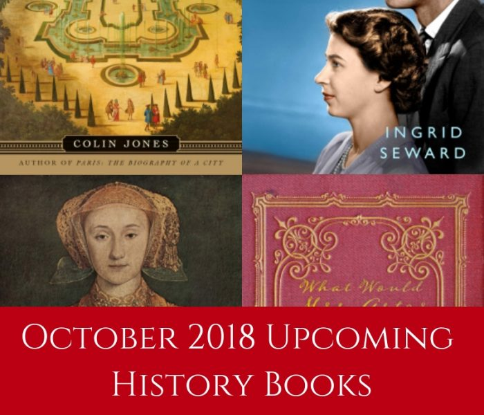 October 2018 Upcoming History Books