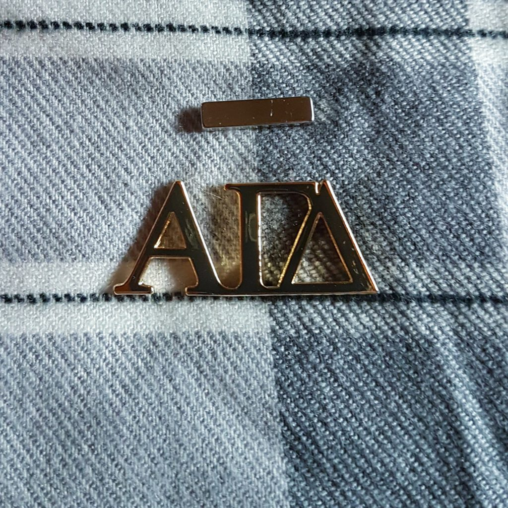 Magnetic Alpha Gamma Delta pin