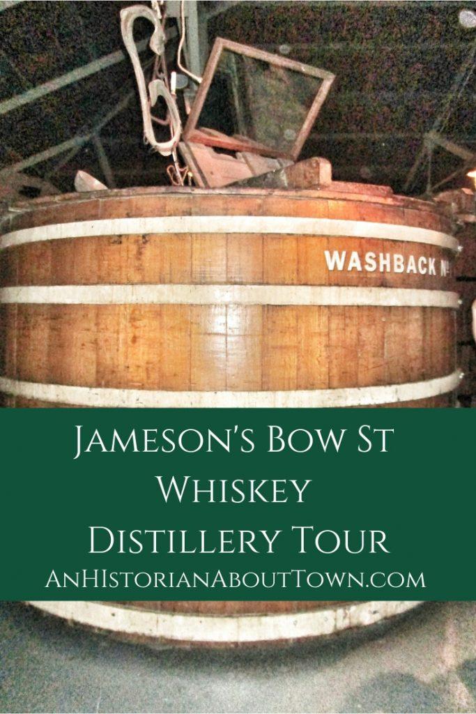Washbacks at Jameson's Bow St Distillery Tour