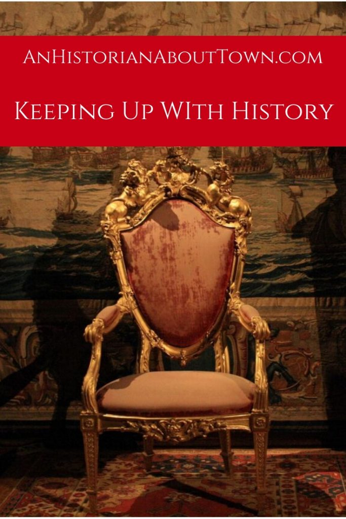Keeping Up With History after you graduate